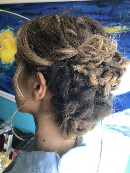 wedding hair dumfries