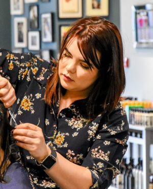 Caitlyn Top Stylist and Colour Technician Dumfries