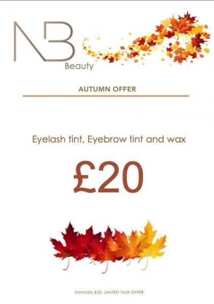 Autumn Beauty offer